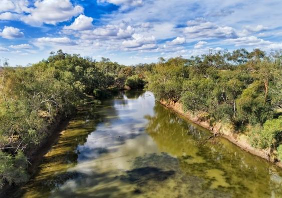 Gwydir River, part of the Murray-Darling Basin