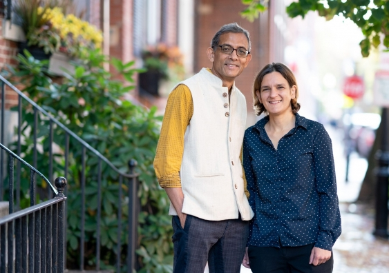 Abhijit Banerjee and Esther Duflo