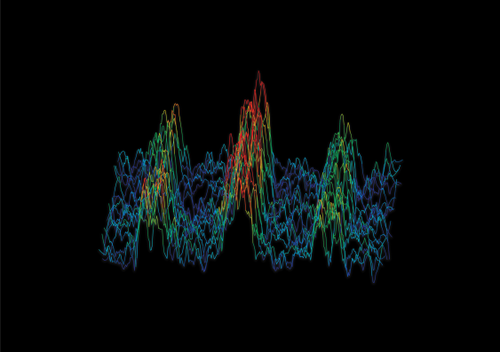 The frequency spectrum of an engineered molecule