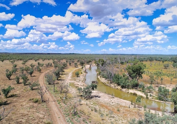 Part of the Murray-Darling Basin
