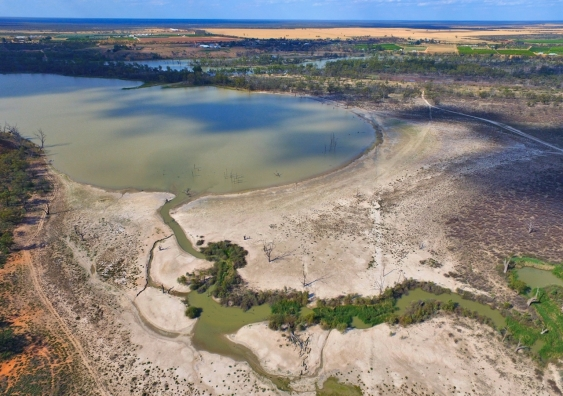 Murray-Darling Basin in drought