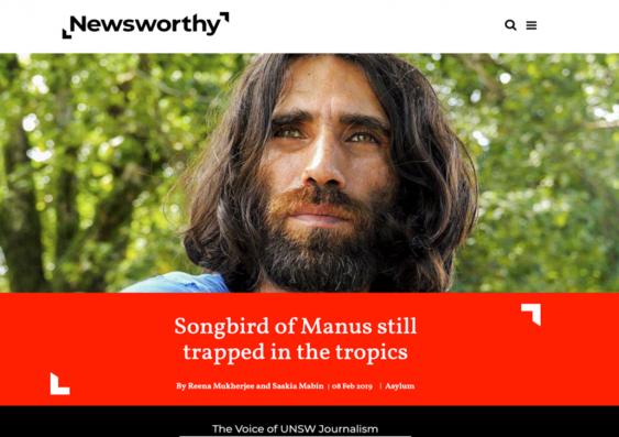 Newsworthy website