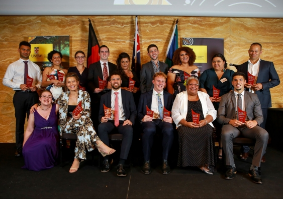 Nura Gili Indigenous Award winners