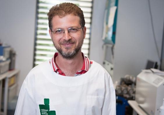 Dr Orazio Vittorio. Image: Children's Cancer Institute