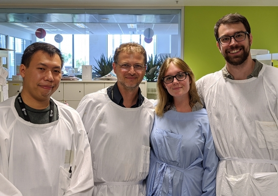 Dr Orazio Vittorio and his research team