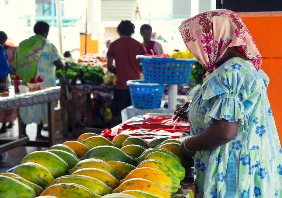 pacific island market
