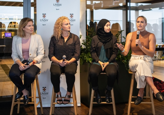 UNSW Active Women Strategy Launch panel discussion