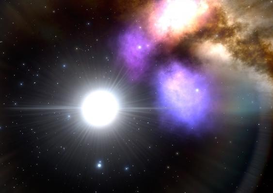 Pulsating star