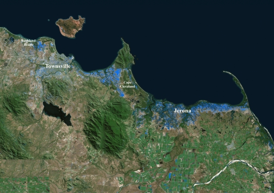 Powerful New Technology Maps Townsville Floods In Near Real Time