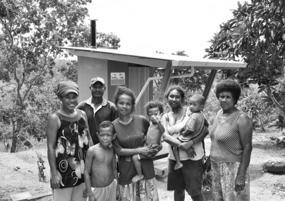 sago sanitation project