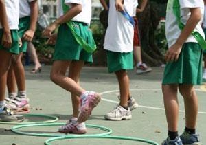 School kids sized