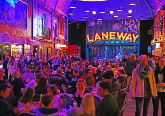 Brisbane Laneway food market