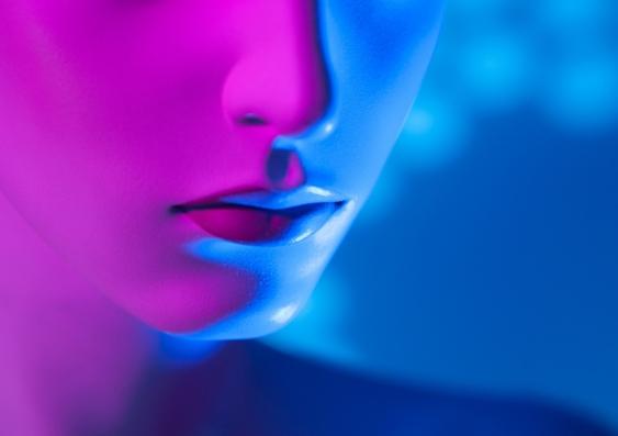 Face of a sex robot