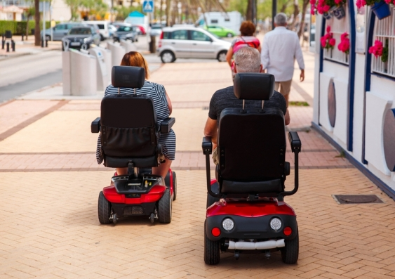 wheelchair scooters