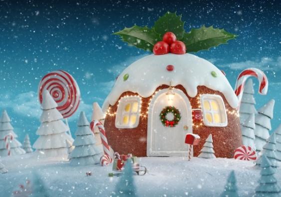 Magic Christmas pudding