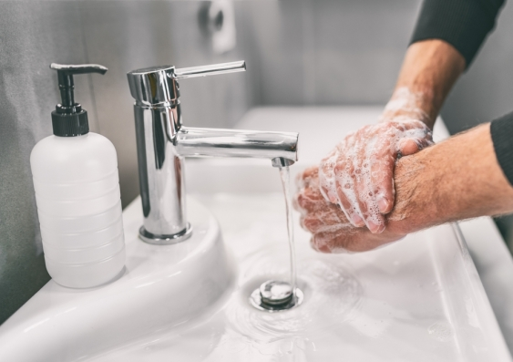 Handwashing to prevent COVID-19 infection