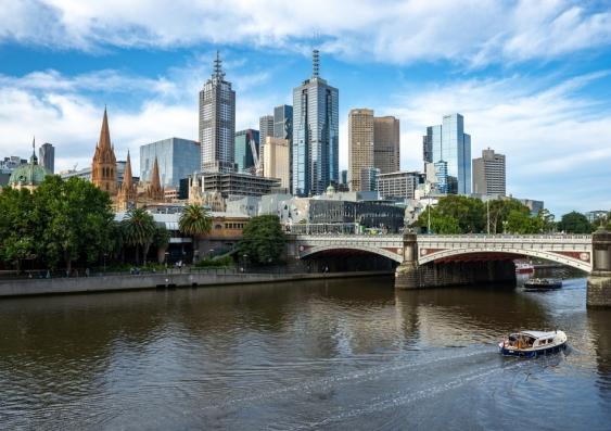 Melbourne city landscape