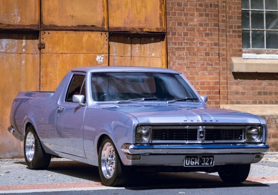 1971 Holden Mercury Silver ute