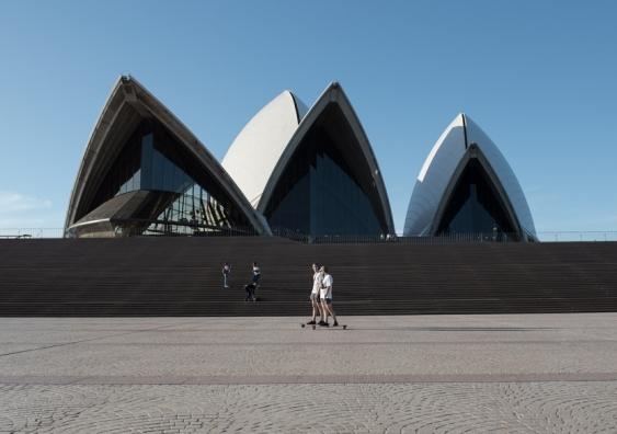 Opera House lockdown