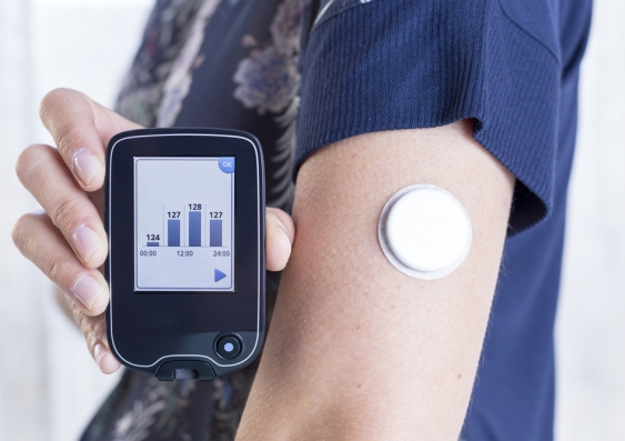 glucose monitoring patch for diabetes