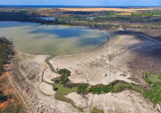 Murray-Darling basin during drought