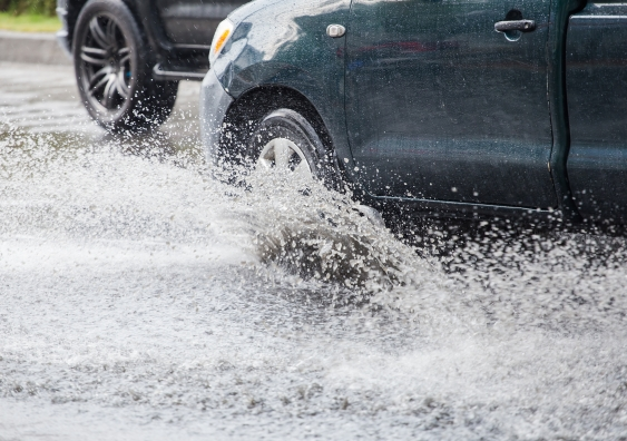 storm water car
