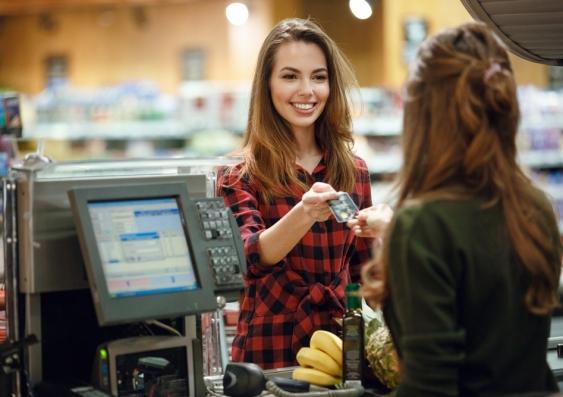 spermarket cashier