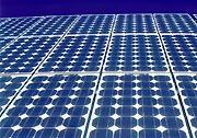 Solar panels inside