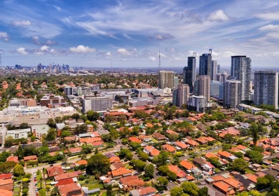 suburb in Sydney bordering CBD