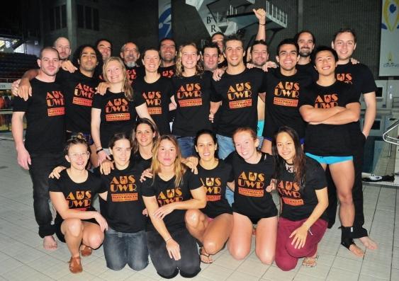 Australian squad - underwater rugby world championships.jpg