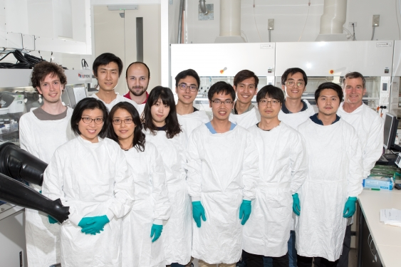 Dr Anita Ho-Baillie's research team