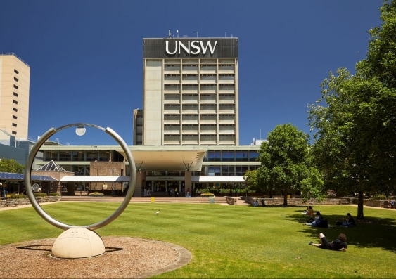 UNSW Library Lawn