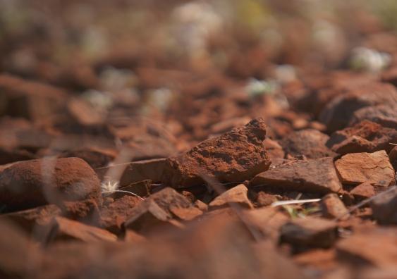 Rocks in the Pilbara