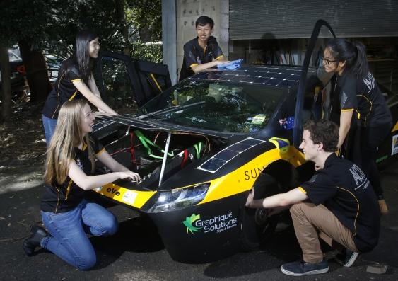solar car sunswift