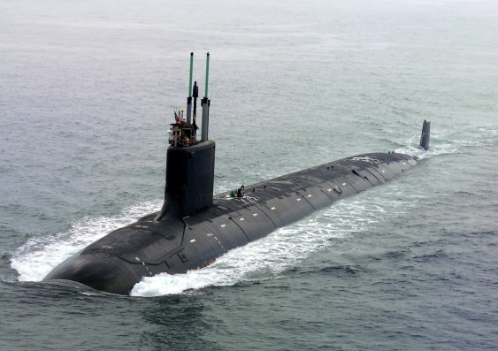 us navy nuclear submarine virginia in 2004