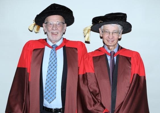 Richard Chisholm and Anthony Blacksheild
