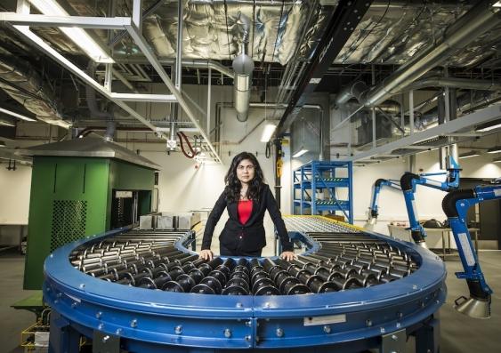 veena sahajwalla in the microfactorie