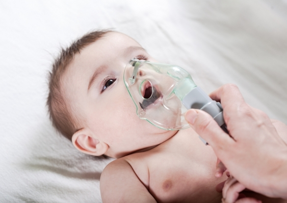 Baby needs help breathing
