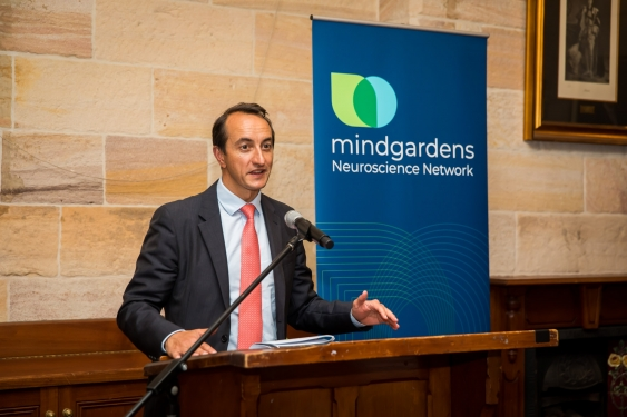 Member for Wentworth, Mr Dave Sharma MP, Mindgardens launch