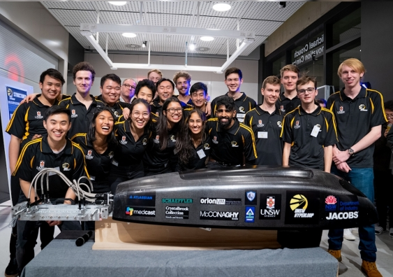 UNSW's Hyperloop team