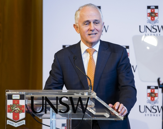 Prime Minister Malcolm Turnbull at UNSW Sydney.jpg