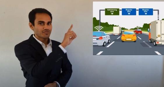 Shantanu Chakraborty presents his 3 Minute Thesis entry