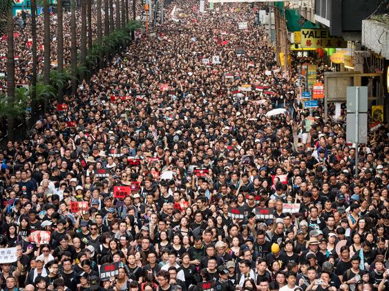 Hong Kong Protests in 2019