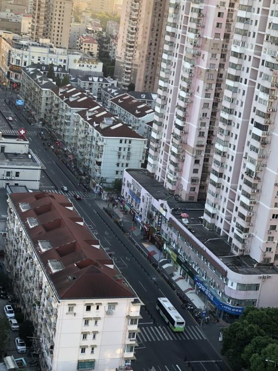 Urban scene, China.
