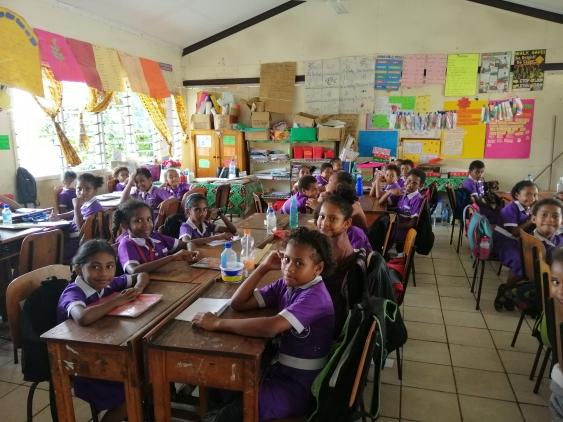 Asheeta Prasad former primary school in Fiji