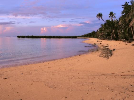 Beach near Lautoka, Fiji