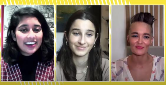 Avani Dias, Chanel Contos and Yumi Stynes
