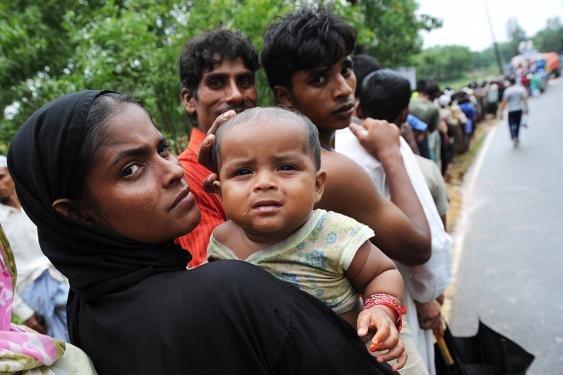 refugee camp in bangladesh