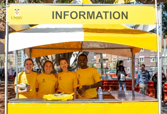 UNSW Open Day Information