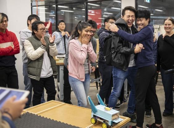 UNSW Global Diploma Mars robots